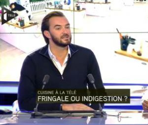 Cyril Lignac pense qu'il y a trop d'émissions culinaires à la télévision.