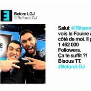 La Fouine et Thomas Thouroude chauffent Rihanna sur Twitter pour le Before de Canal