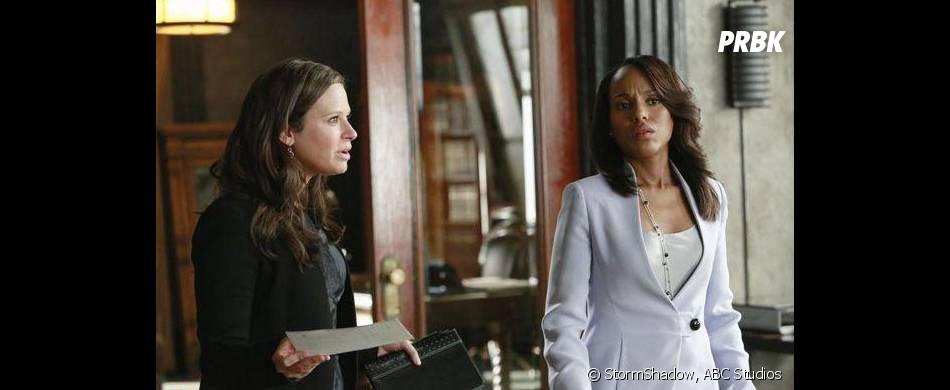 Scandal saison 3, épisode 3 : Kerry Washington et Katie Lowes