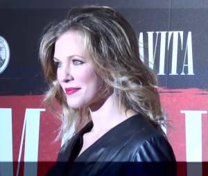 Lorie lors de la première dun film Malavita près de l'aéroport Roissy Charles de Gaulles le 16 octobre 2013.