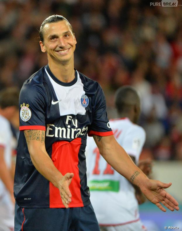Zlatan Ibrahimovic : le star du PSg, un gentil garçon ?