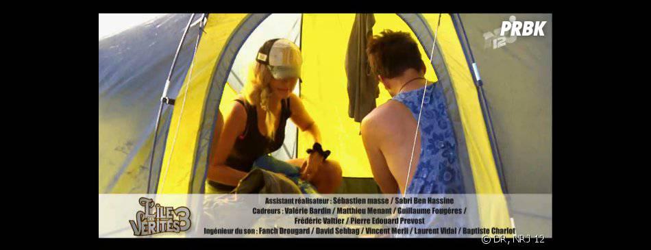 L'île des vérités 3 : les candidats en ont ras-le-bol de la vie au camping.