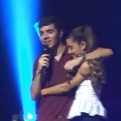 Ariana Grande sur scène avec The Wanted : 'sérénade girl' gâchée ?