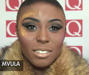 Laura Mvula aux Q Awards le 21 octobre 2013