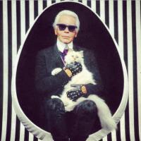 Karl Lagerfeld : une collection inspirée par sa chatte Choupette