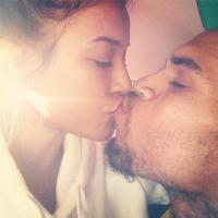 Chris Brown : bisou avec Karrueche Tran sur Instagram... pour narguer Rihanna ?