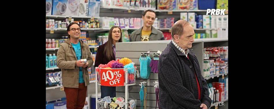 The Big Bang Theory saison 7 : Bob Newhart débarque