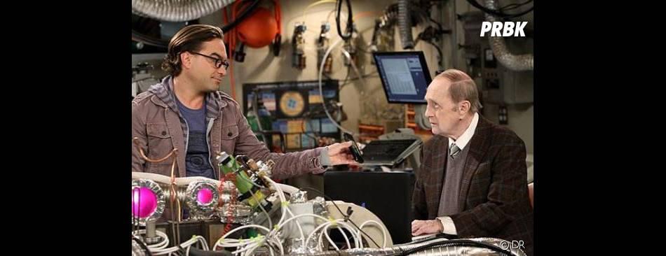 The Big Bang Theory saison 7 : Bob Newhart face à Leonard