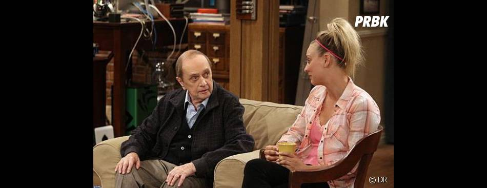 The Big Bang Theory saison 7 : Bob Newhart face à Penny
