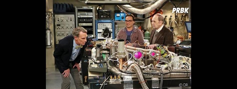 The Big Bang Theory saison 7 : Bill Nye débarque