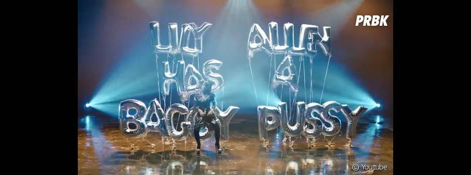 Lily Allen : clin d'oeil à Robin Thicke et le clip de Blurred Lines dans son clip de Hard Out Here