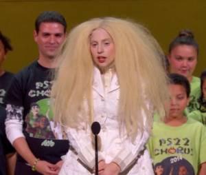 Lady Gaga lors des Glamour Awards à New York le 12 novembre 2013