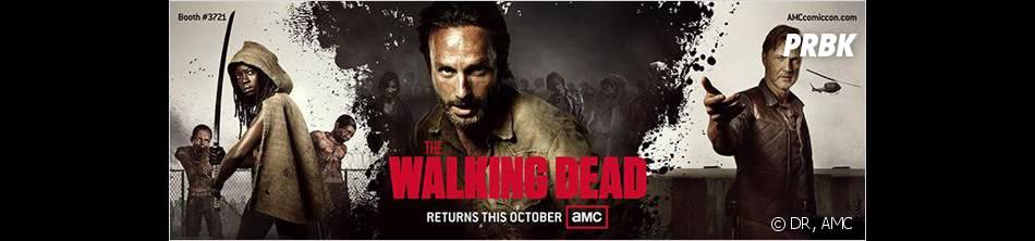 The Walking Dead saison 4 : bientôt la fin du Gouverneur ?