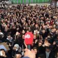 Maxime Musqua : les internautes ont pu suivre via Twitter la Marche du chroniqueur du Petit Journal pendant dix jours