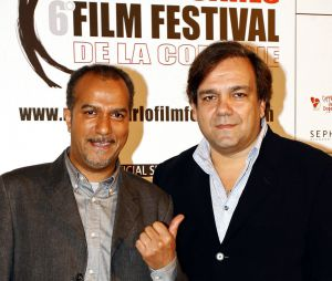 Pascal Légitimus et Didier Bourdon à Monaco, le 2 décembre 2006