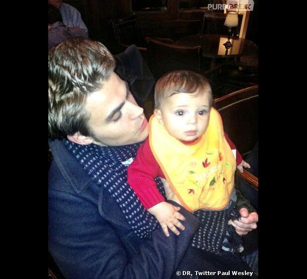 Thanksgiving 2013 : Paul Welsey et son neveu