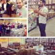 Thanksgiving 2013 : Jesse Metcalfe fait une bonne action