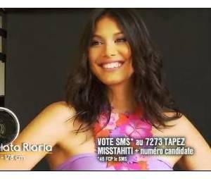 Miss France 2014 : Mehiata Riaria, Miss Tahiti