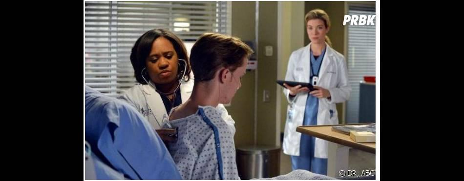 Grey's Anatomy saison 10, épisode 12 : Bailey et Leah face à un patient
