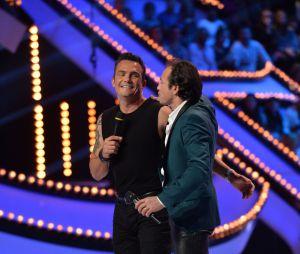 Ice Show : Richard Virenque et Philippe Candelorolors de la demi-finale