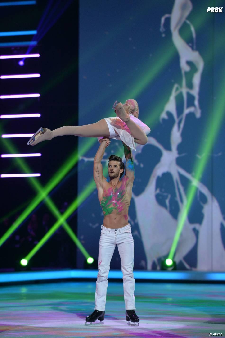 Ice Show : Florent Torres lors de la demi-finale