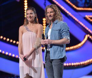 Ice Show : Tatiana Golovin et Gwendal Peizerat lors de la demi-finale