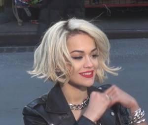 Rita Ora : séance photos à Manhattan, le 16 décembre 2013
