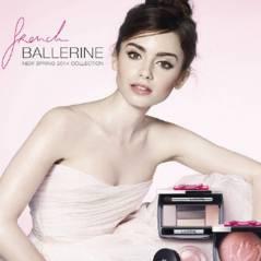 Lily Collins : ballerine au naturel pour Lancôme