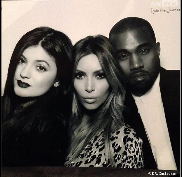 "Les soeurs Kardashian, sexy pour leur soirée ""naughty or nice"" de Noël 2013"