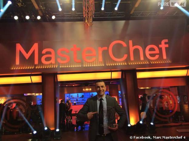 Masterchef 2013 : Marc pense qu'il n'arrive pas à la cheville des candidats de Top Chef