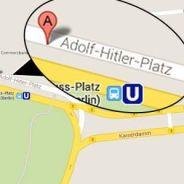 Google Maps : bad buzz à cause d'une place Adolf Hitler à Berlin