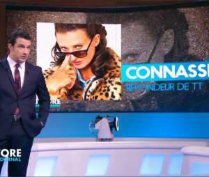 Camille Cottin alias La Connasse a annoncé avec humour son départ du Before au Grand Journal dans l'émission de Thomas Thouroude