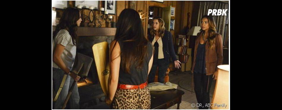 Pretty Little Liars saison 4, épisode 15 : Ashley Benson aka Hanna