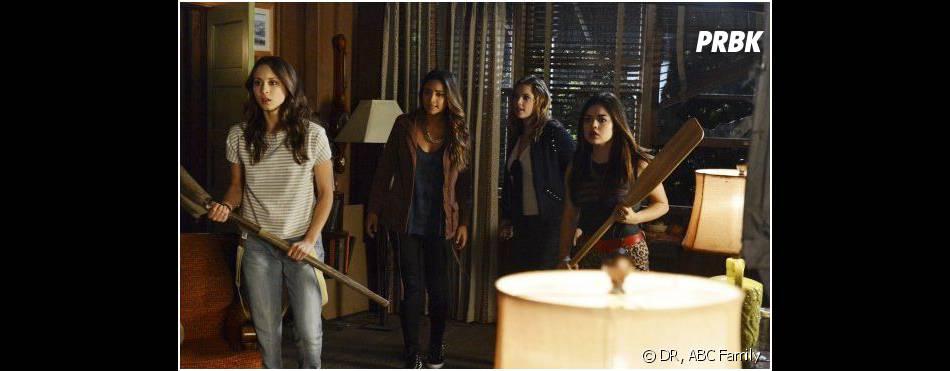 """Pretty Little Liars saison 4, épisode 15 : les """"petites menteuses"""" en danger ?"""