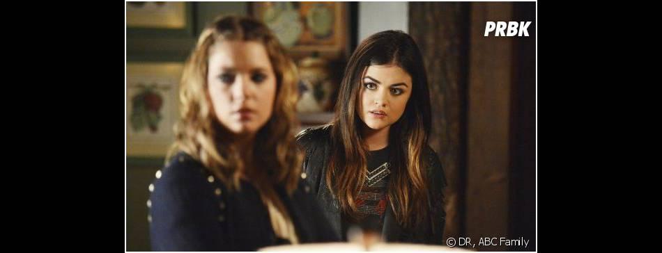 Pretty Little Liars saison 4, épisode 15 : Ashley Benson et Lucy Hale