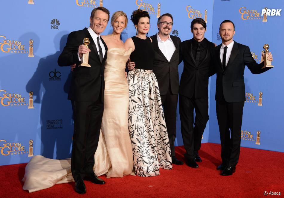 Breaking Bad gagnant du prix de meilleure série dramatique aux Golden Globes comme aux SAG Awards 2014
