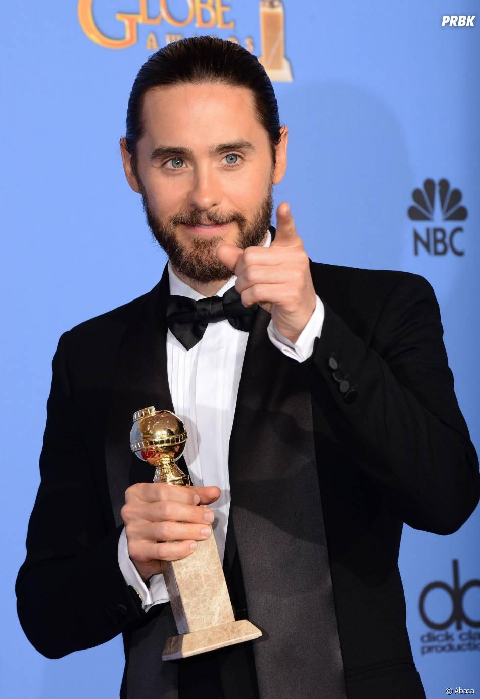 Jared Leto gagnant du prix de meilleur second rôle masculin pour Dallas Buyers Club aux Golden Globes et aux SAG Awards