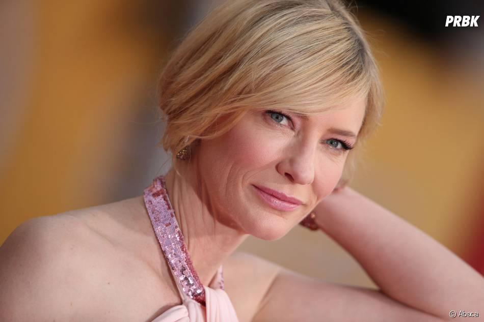 SAG Awards 2014 : Cate Blanchett, gagnante du prix de meilleure actrice pour Blue Jasmine