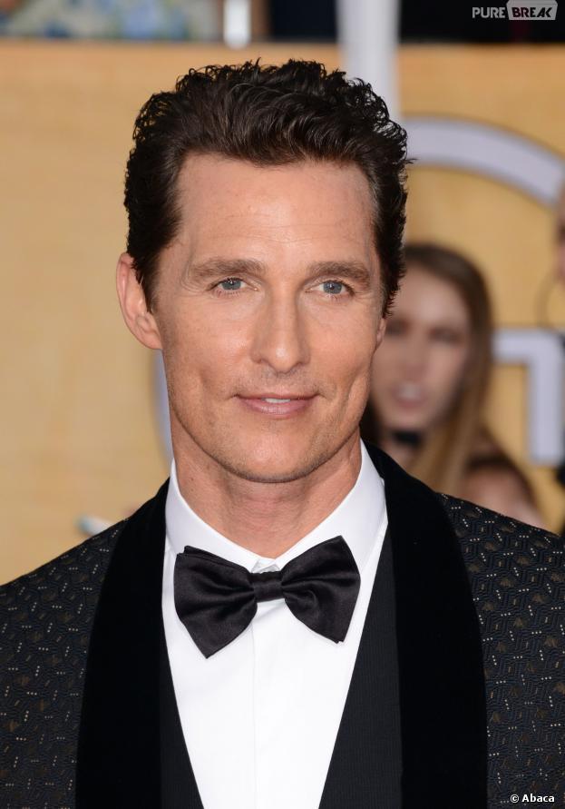 SAG Awards 2014 : Matthew McConaughey, meilleur acteur pour son rôle dans Dollar Buyers Club