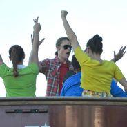 Glee saison 5 : tournage en plein air et en bus pour les New Directions