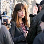 Fifty Shades of Grey : Dakota Johnson en jeune fille sage sur le tournage