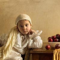 [PHOTOS] Il photographie sa fille à la manière des toiles de grands maîtres