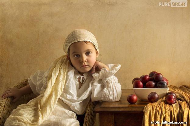 Bill Gekas photographie sa fille de la plus belle des façons