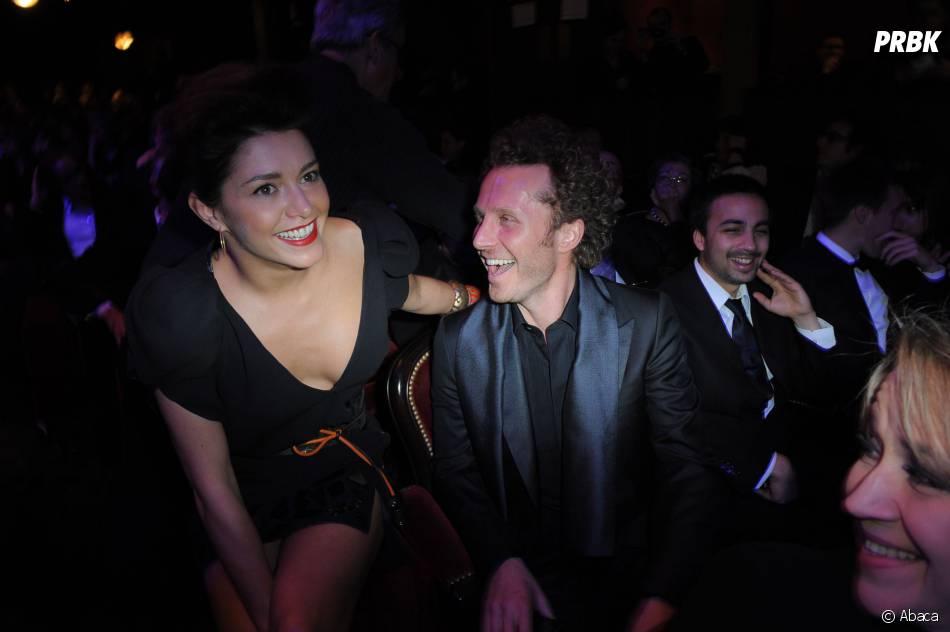 Emma de Caunes et son ex-mari Sinclair aux César 2009