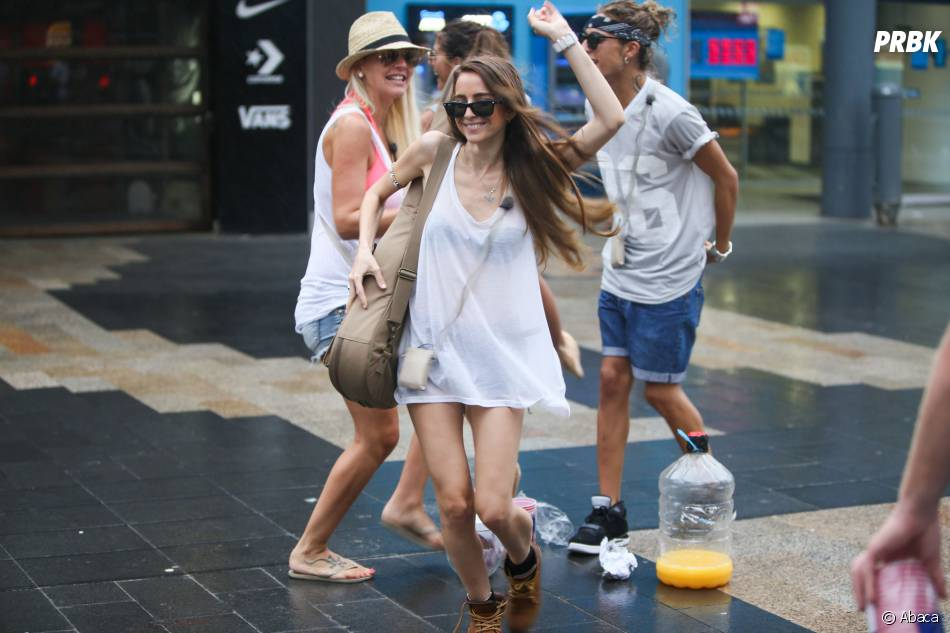 Les Anges de la télé-réalité 6 : les candidats en plein tournage à Sydney, le 20 janvier 2014