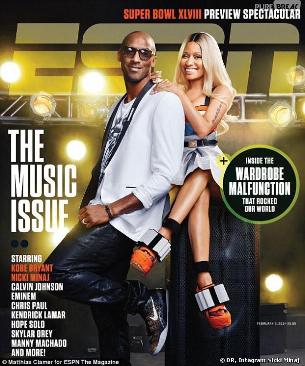 Nicki Minaj : retouchée en une du magazine ESPN