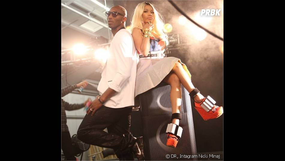 Nicki Minaj : sexy avec Kobe Bryant