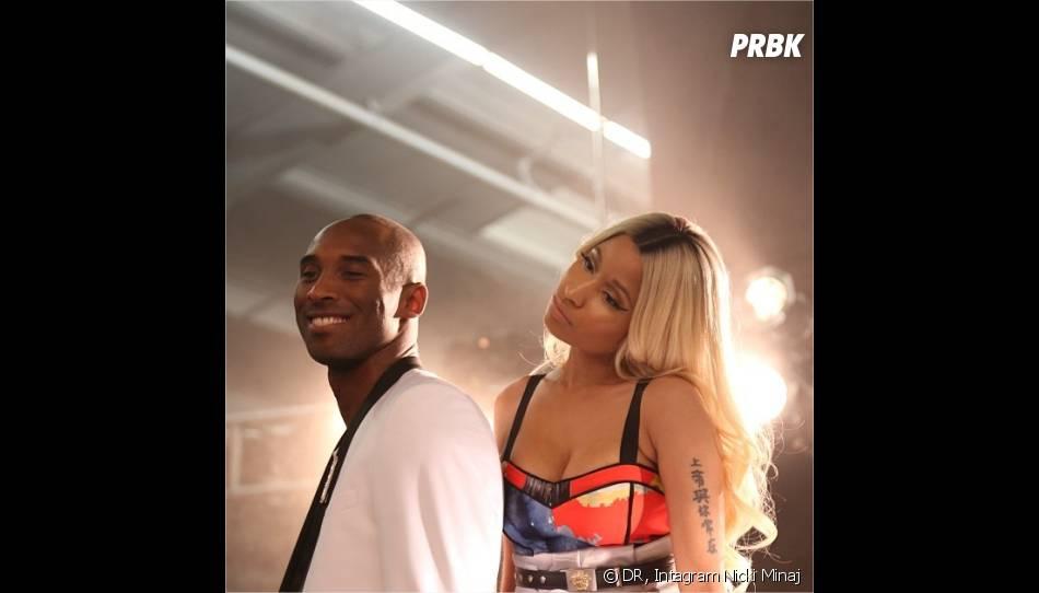 Nicki Minaj et Kobe Bryant dans les coulisses de leur photoshoot