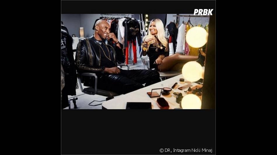 Nicki Minaj dans les coulisses de son photoshoot pour ESPN