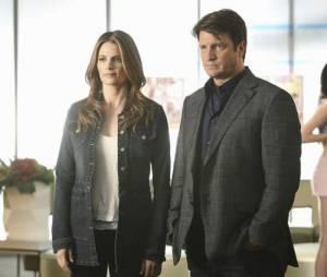 Castle saison 4 : Nathan Fillion et Stana Katic